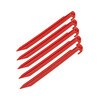 CAMPZ V-Pegs Plastic 30cm Red
